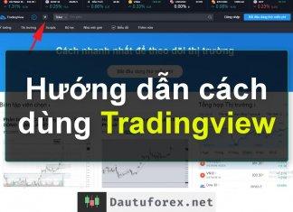 Hướng dẫn cách sử dụng Tradingview chi tiết nhất