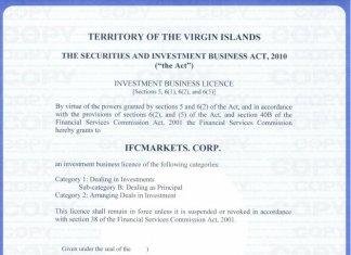 Đánh giá sàn IFC Markets mới nhất 2021