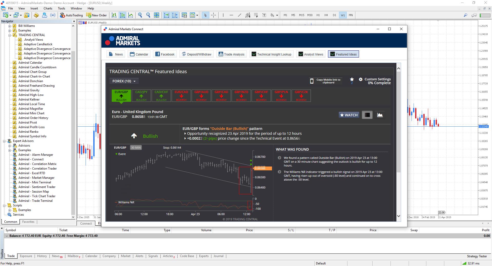 Đánh giá sàn Admiral Markets mới nhất 2021